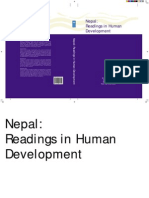 Readings on Human Development of Nepal
