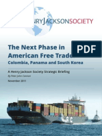 Colombia Panama South k Are a Free Trade