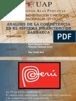 Analisis de La Competencia en El Sistema Financiero