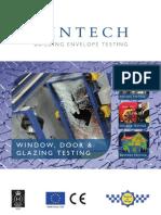 Window, Door & Glazing Testing