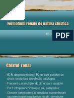 Formatiuni Renale de Natura Chistica