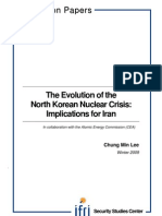 The Evolution of the Nort Korean Nuclear Crisis