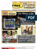 The Mid September, 2012 edition of Warren County Report