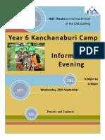 Parent Evening Invitation
