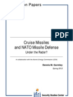 Cruise Missiles and NATO Missile Defense. Under the Radar?