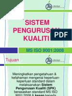 Sistem Pengurusan Kualiti MS ISO 9001