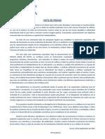 Nace la Plataforma Unificada de la Policía Local de Ceuta