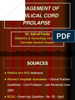 Umibilical Cord Prolapse (2)