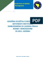 Izvjestaj Ombudsmana za 2011