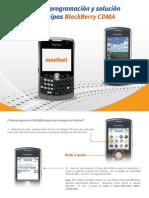 Guia Rapida de Programacion y Fallas Blackberry CDMA