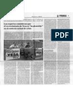 """Los expertos consideran que el recrecimiento de Yesa es """"inadmisible"""" en el contexto actual de crisis"""