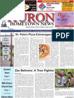 Huron Hometown News - September 13, 2012