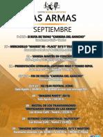 Boletin Septiembre ''Cma Las Armas''