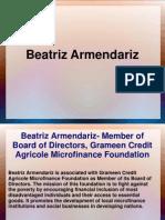 Beatriz Armendariz is Lecturer at Harvard University