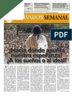 Observador semanal del 13/09/2012