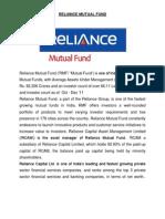 Reliance Mutual Fund-final