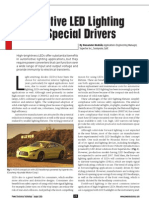 Automotive LED Lighting Driver