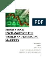 Stock Exchange- Gcm