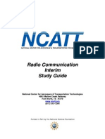 2009 08 Radio Comm-Interim Study Guide