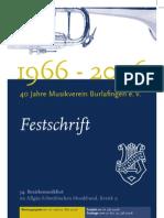 Festschrift Musikverein Burlafingen 2006