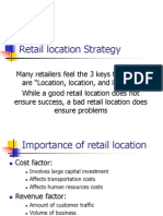 Retail Location Strategy