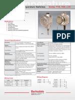 Temperature Switch T12X-L1X-DS
