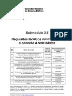 PROCEDIMENTOS DE REDE - ONS - Sub-módulo 3-6 (2009)