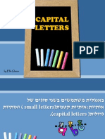 Capital Letters-without Answers