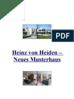 Heinz von Heiden – NeuesMusterhaus