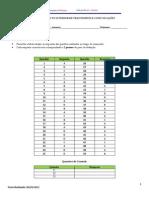 Aula 12 - Teste 01 - Versão Professor - Avaliação da compreensão do ITIL V3 e PSI