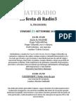 MateRadio 2012 - programma