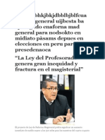 Ley de La Reforma