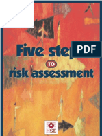 Five Steps to Risk Assessment