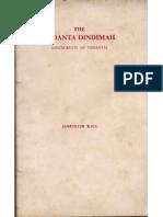 Vedanta Dindimah - Janaki Nath Kaul