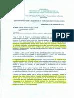 Denuncia de Odecofroc al Viceministerio de Interculturalidad