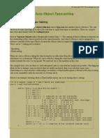Java Object Typecasting