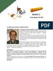 Boletín 2 de correo real de las mariposas monarca temporada 2012-2013