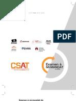Examen à mi-mandat de l'Équipe d'action de la société civile (CSAT)