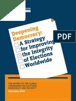 Deepening Democracy Final Report