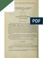Recherches sur la famille dont fit partie Montouemhat - par G. Legrain