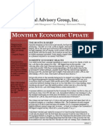Monthly Economic Update-Capital Advisory Group,Inc. St Louis MO (636)-394-5524