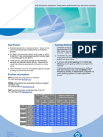 EST Fact Sheet - Glazing
