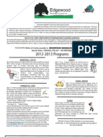 EdgewoodFall ProgramFlyer2012-2013