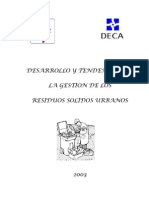 Desarrollo y Tendencias Gestion RSU