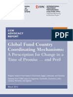 Global Fund Country Coordinating Mechanisms