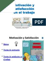 Teorias Motivacion y Satisfaccion Laboral