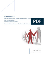 Conferencia 2 Las Redes Sociales Herramienta de Gestion
