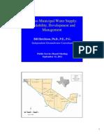 El Paso Municipal Water Supply