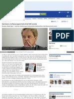 Sachsens Verfassungsschutz-Chef tritt zurück