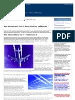 Chemtrails - Nano-Partikel in Unserer Luft Und in Der Nahrung - Politikglobal-blogspot-De